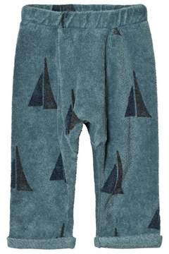 Bobo Choses Blue Sailing Print Alma Track Pants