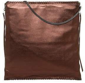 AllSaints Fleur De Lis Large Leather Satchel