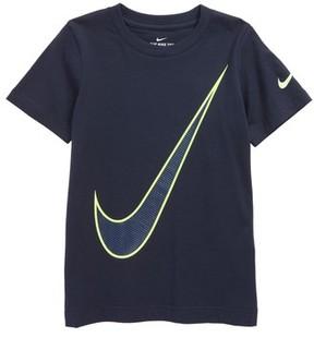 Nike Toddler Boy's Oversize Swoosh Graphic T-Shirt