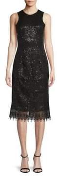 Dress the Population Alina Lace Knee-Length Dress