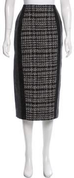 Antonio Marras Wool-Blend Midi Skirt