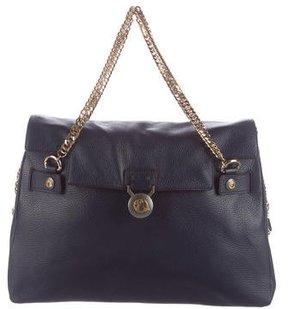 Versace Leather Satchel Bag