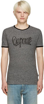 Marc Jacobs Grey Desperate T-Shirt