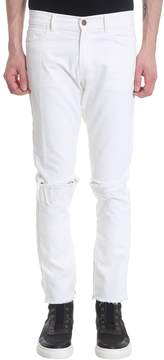 Ih Nom Uh Nit White Denim Jeans