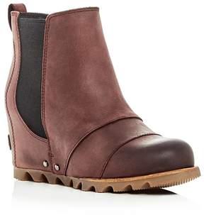 Sorel Women's Lea Wedge Leather Booties