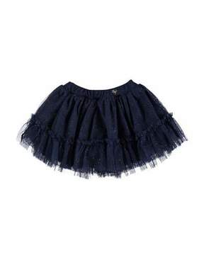 Mayoral Glittered Tulle Skirt, Size 6-36 Months