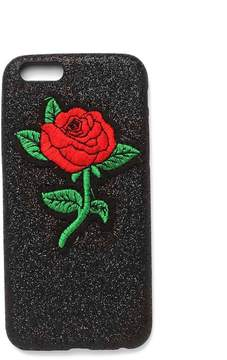 Nasty Gal nastygal Roses Bloom For You Glitter iPhone 6/7/6+/7+ Case