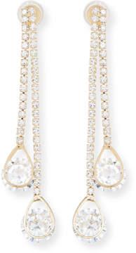 Fragments for Neiman Marcus Double Bar & Teardrop Earrings