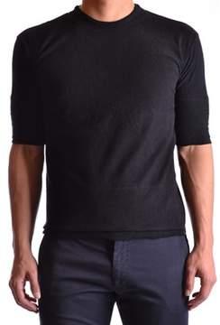 Barbara I Gongini Men's Black Cotton T-shirt.