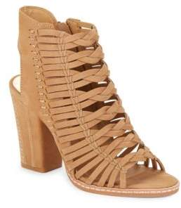 Dolce Vita Amina Braided Nubuck Sandals