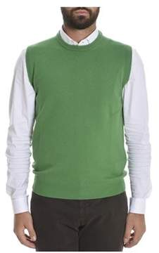 Altea Men's Green Wool Vest.