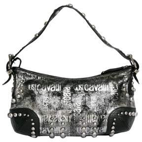 Just Cavalli Black Leather Handbag