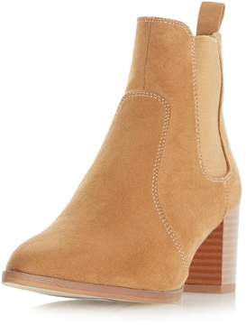 Head Over Heels *Head Over Heels by Dune Tan Pagey Ankle Boots