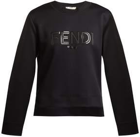 Fendi Logo-print neopene sweatshirt