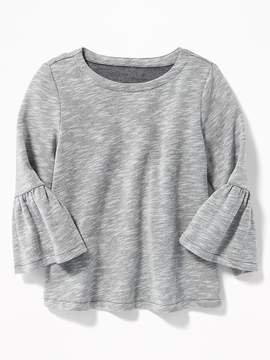 Old Navy Relaxed Bell-Sleeve Fleece Top for Girls