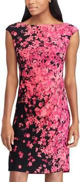 Chaps Petite Floral Sheath Dress