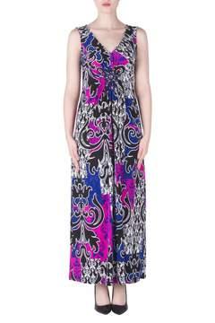 Joseph Ribkoff Purple Pink Maxi Dress