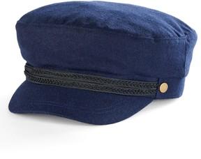 Apt. 9 Women's Braided Trim Wool Sailor Cadet Hat