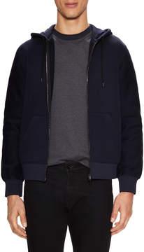 Balenciaga Men's Hooded Solid Jacket