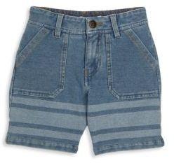 Little Marc Jacobs Toddler's, Little Boy's & Boy's All Aboard Denim Bleach Shorts