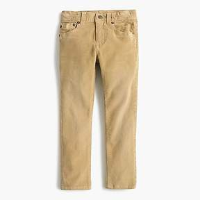 J.Crew Boys' cord in stretch fit