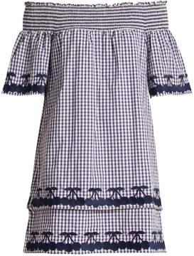 DAY Birger et Mikkelsen BLISS AND MISCHIEF Off-the-shoulder gingham cotton dress