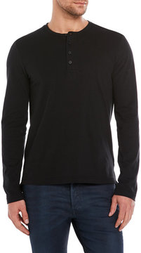 Kenneth Cole Black Label Sueded Jersey Tee