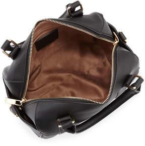 Neiman Marcus Saffiano Mini Duffel Bag