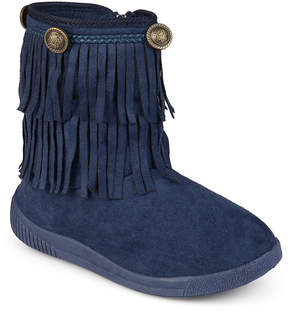 Journee Collection Navy Anza Boot