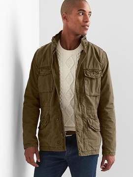 Gap Hidden-hood fatigue jacket