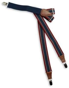 Black & Brown Black Brown Patterned Suspenders