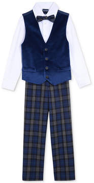Nautica 4-Pc. Shirt, Pants, Vest & Bowtie Set, Toddler Boys (2T-5T)