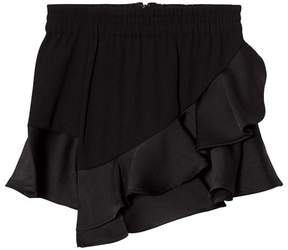 Little Remix Black Emily Ruffle Skirt