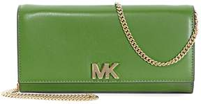 Michael Kors Mott Large Chain Wallet- True Green - ONE COLOR - STYLE