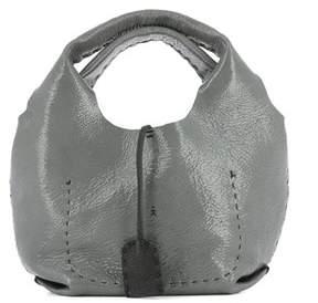 Henry Beguelin Women's Grey Leather Handbag.