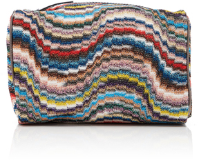 Missoni Toiletry Large Crochet-Knit Bag