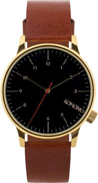 Komono Brown Winston Regal Watch
