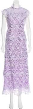 Giamba 2017 Guipure Lace Maxi Dress