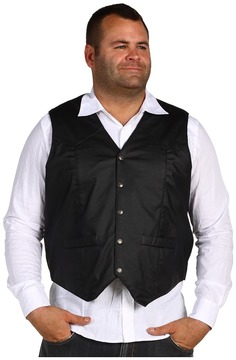 Roper Action Leather Vest Men's Vest