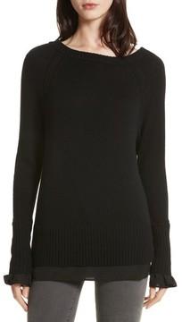 Brochu Walker Women's Flores Layered Off Shoulder Sweater