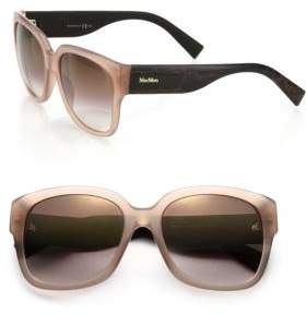 Max Mara 55MM Square Sunglasses