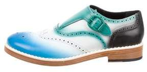 Jimmy Choo Ombré Monk Strap Loafers