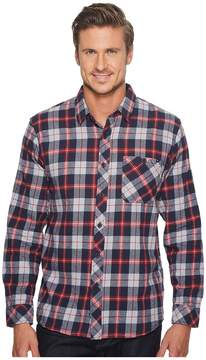Rip Curl Teller Long Sleeve Flannel Men's Clothing