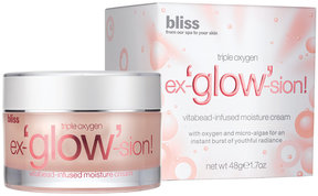 Bliss Triple Oxygen Ex-Glow-Sion Moisture Cream, 1.7 Oz.