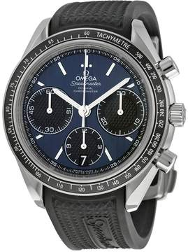 Omega Speedmaster Racing Automatic Chronograph Blue Dial Men's Watch