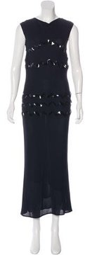 Chanel Embroidered Maxi Dress