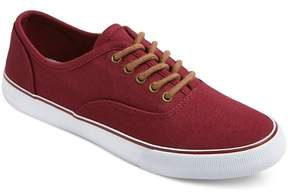 Mossimo Women's Layla Canvas Sneakers Burgundy