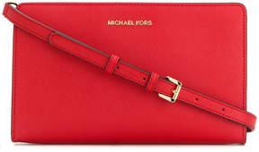Michael Kors Jet Set large cross body clutch bag - RED - STYLE