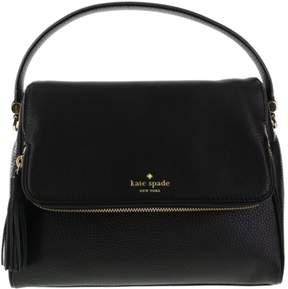 Kate Spade Chester Street Miri Pebbled Leather Shoulder Bag Black