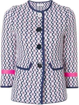 Charlott button printed jacket